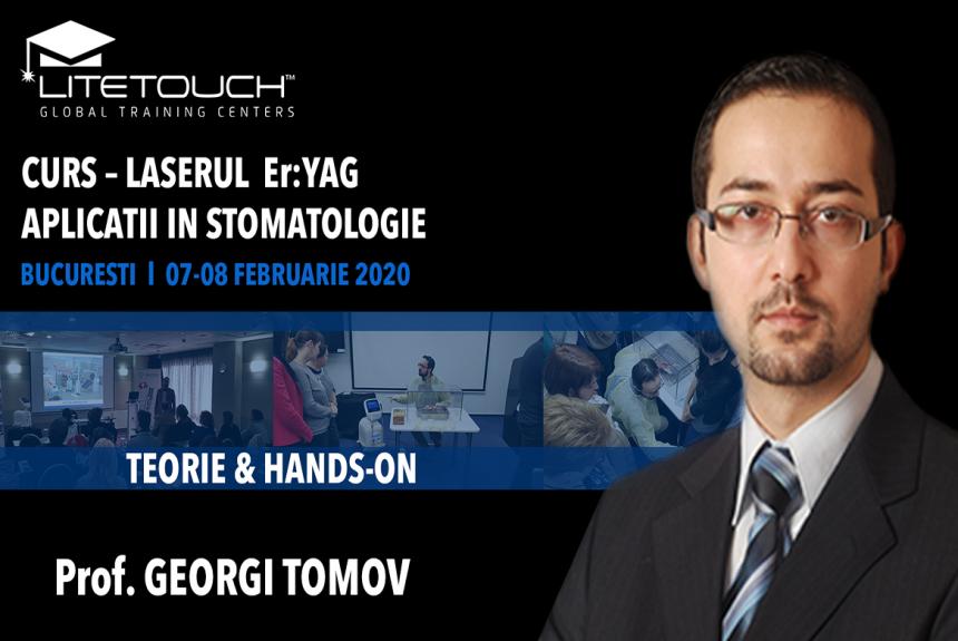Curs – laserul LiteTouch™ ER:YAG aplicații în stomatologie – teorie și practică 07-08 februarie 2020 București