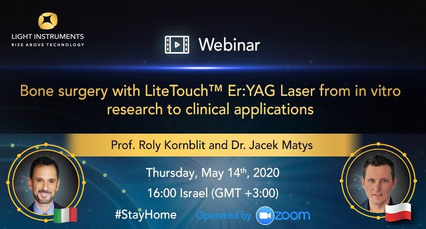 Chirurgia osoasă cu laserul LiteTouch™ ER:YAG – de la cercetări în vitro la aplicații clinice