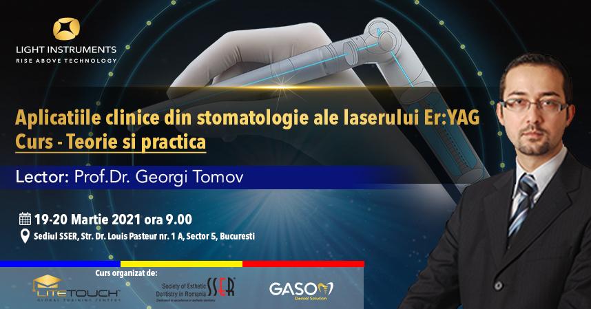 Curs – laserul LiteTouch™ ER:YAG aplicații în stomatologie – teorie și practică 19-20 Martie 2021 București