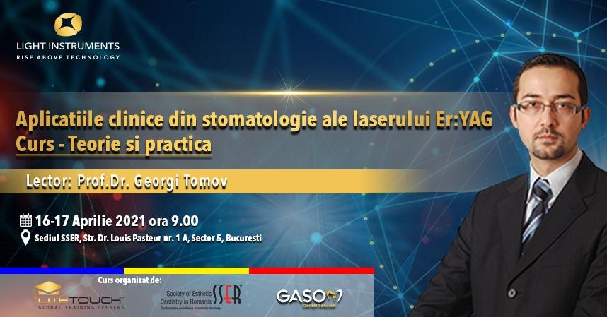 Curs – laserul LiteTouch™ ER:YAG aplicații în stomatologie – teorie și practică 16-17 Aprilie 2021 București