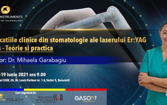 Curs – laserul LiteTouch™ ER:YAG aplicații în stomatologie – teorie și practică 18-19 Iunie 2021 București