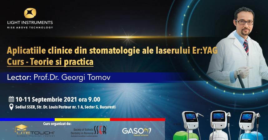 Curs – laserul LiteTouch™ ER:YAG aplicații în stomatologie – teorie și practică 10-11 Septembrie 2021 București