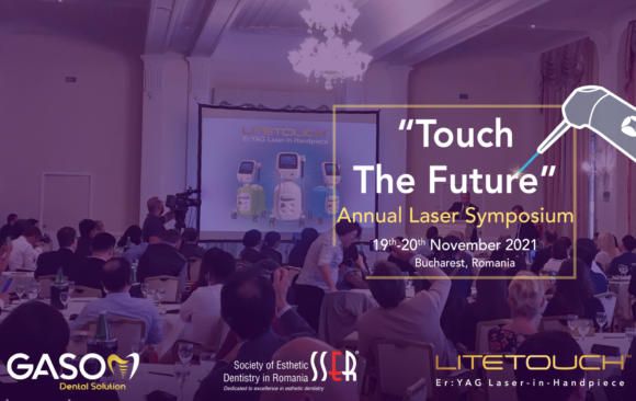 """Laser Symposium """"Touch The Future"""", which will be held in Bucharest, Romania,  during November 19-20, 2021."""