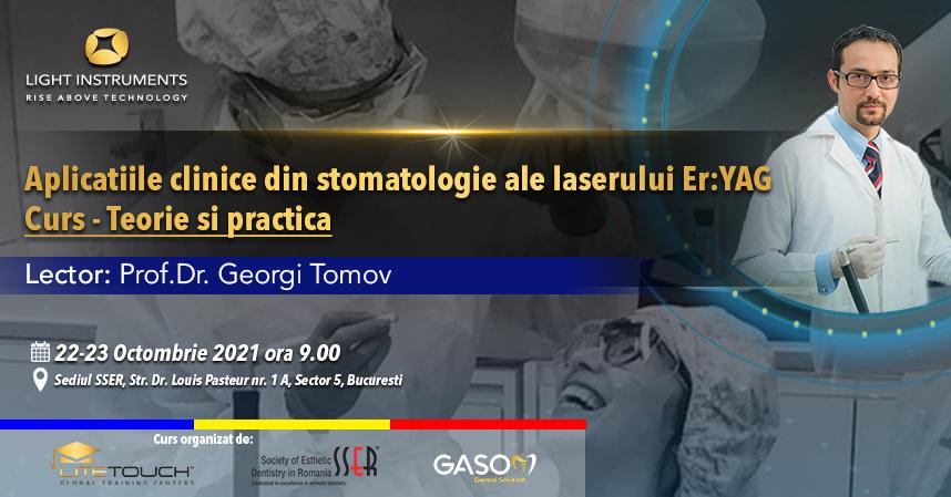 Curs – laserul LiteTouch™ ER:YAG aplicații în stomatologie – teorie și practică 22-23 Octombrie 2021 București